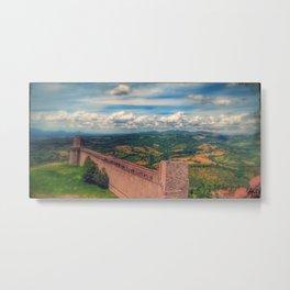 Assisi, Italia Metal Print
