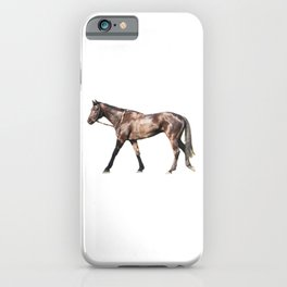 Thoroughbred Racehorse iPhone Case
