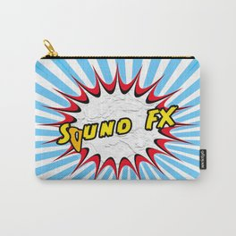 Comic Sound Effects Carry-All Pouch