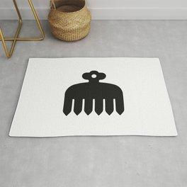 Imagawa Clan · Black Mon Rug