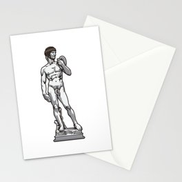 Rugby David by Michelangelo Stationery Cards