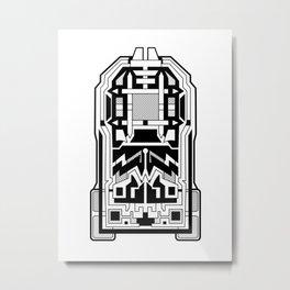 Monolith - Art Deco Design Metal Print