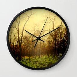 Lambent Woods Wall Clock