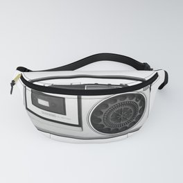 cassette recorder / audio player - 80s radio Fanny Pack