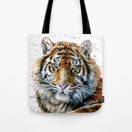 Tiger watercolor Umhängetasche
