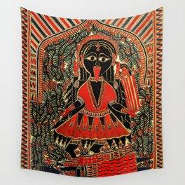Hindu Kali 16 Wall Tapestry