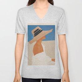 Summer Hat Unisex V-Neck