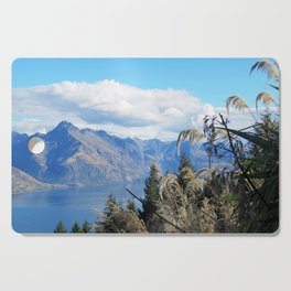 New Zealand Lake Cutting Board