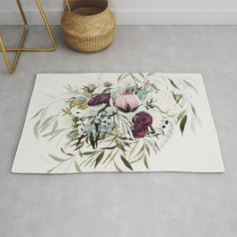 Rustic and Free Bouquet Rug