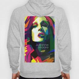 Julianne Moore Pop Art WPAP  Hoody