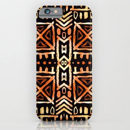 African print iPhone Case