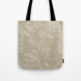White gold velvet Tote Bag