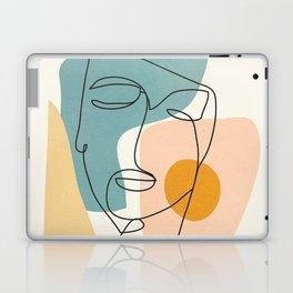 Abstract Face 25 Laptop & iPad Skin