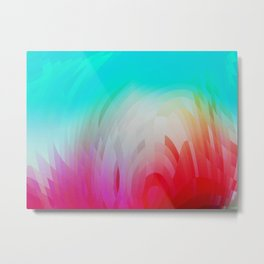 Colorful Grass In The Sunshine Metal Print