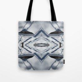 Snow Lines Tote Bag