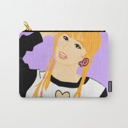 Knock Knock! Momo Purple Carry-All Pouch