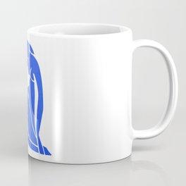 BLUE MATISSE CUT OUT Coffee Mug