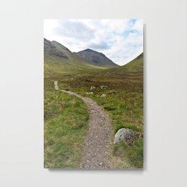 Path of Scots Metal Print
