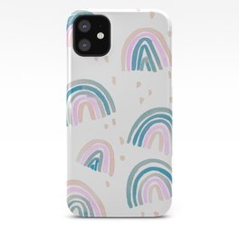 Rainbow Chroma Pastel iPhone Case