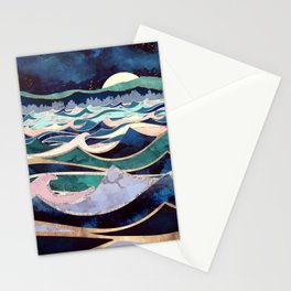 Moonlit Ocean Stationery Cards