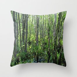 When the Cypress Whispers Throw Pillow