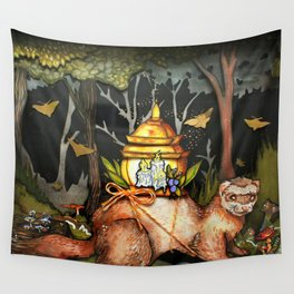 Between Worlds Wall Tapestry