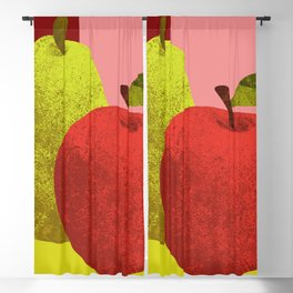apple and pear Blackout Curtain