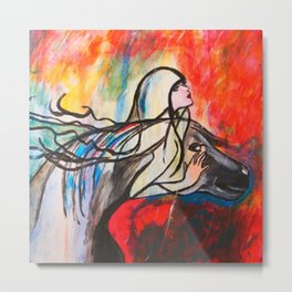 Chasing The Rain  #society6 #decor #buyart Metal Print
