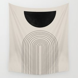 Arch, geometric modern art Wall Tapestry