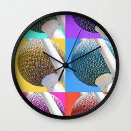 Kuwait PopArt Wall Clock