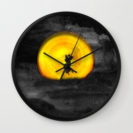You may not be able to fight like a Samurai, but at least you can die like. Wall Clock