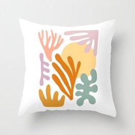 Seagrass + Sun Throw Pillow