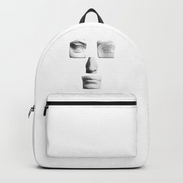 Abstract Art Face Backpack