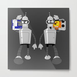 The Future of Good and Evil Metal Print