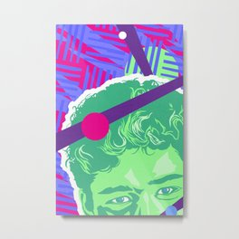 SLATER :: Memphis Design :: Saved By the Bell Series Metal Print