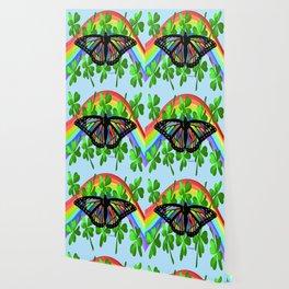 """""""Butterfly Luck"""" Wallpaper"""