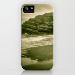 Beach of the Cathedrals, Spain iPhone Case