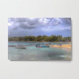 Caribbean Summer Beach Metal Print