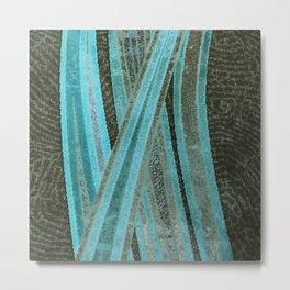 No Exit Abstract Design Metal Print
