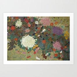 flower【Japanese painting】 Kunstdrucke