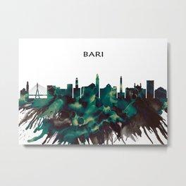 Bari Skyline Metal Print