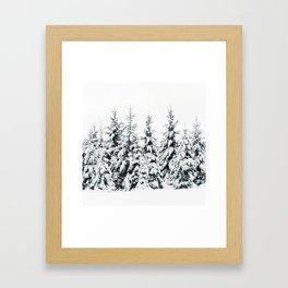 Snow Porn Gerahmter Kunstdruck