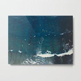 Board Meeting | Surfing  Metal Print
