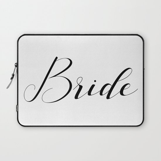 Bride - Black on White by fancyashelltees