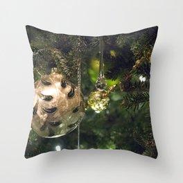Longwood Gardens Christmas Series 100 Throw Pillow