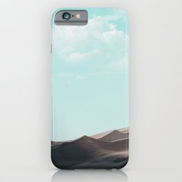 Great Sand Dunes National Park III - Rocky Mountains Colorado iPhone Case