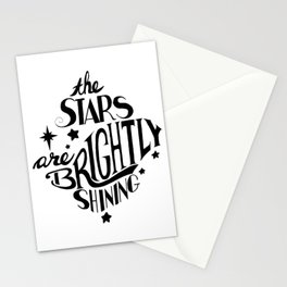 The Stars are Brightly Shining Stationery Cards