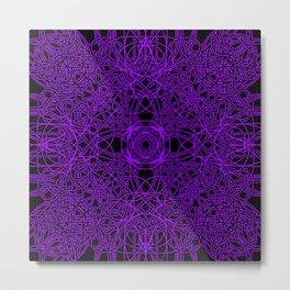 Violet Chaos 9 Metal Print