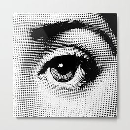 Lina Cavalieri - left eye Metal Print