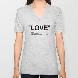 """""""LOVE"""" Unisex V-Neck"""